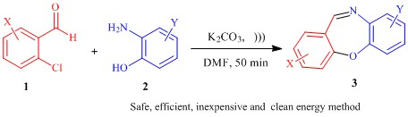 One-pot, clean and energy efficient synthesis of dibenzo[b,f][1,4]oxazepine derivatives promoted by ultrasound